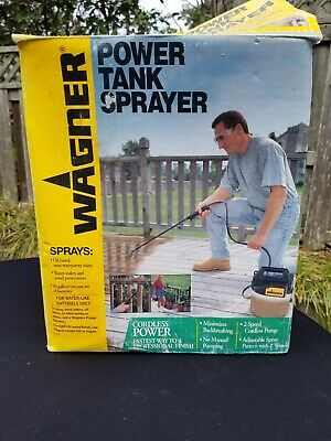 Wagner Power Tank Sprayer For Decks Weeds Fertilizer And More