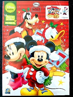 MICKEY MOUSE & Friends Cookie ADVENT Calendar Christmas countdown 2020 FREE SHIP