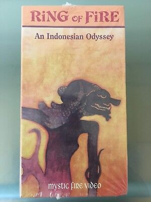 Ring of Fire - An Indonesian Odyssey, 4 Volume VHS box set