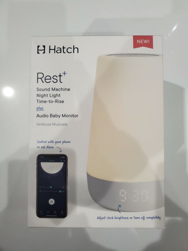 Hatch - Rest+ Night Light, Sound Machine and Audio Monitor UPC# 852852007399