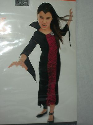 Vampire Victoria Black Costume Halloween Party Dress Youth Size Small S - Victoria Halloween Party