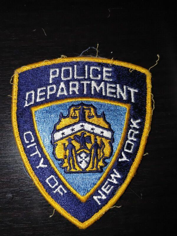 New York City Police Patch Vintage