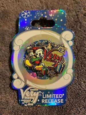 Disney Parks 2016 Very Merry Christmas Party Mickey Mouse Pin --NWT ()