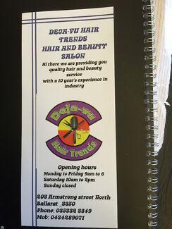 $10 men's or kids hair cut & $ 5 eyebrows threading or waxing Ballarat North Ballarat City Preview