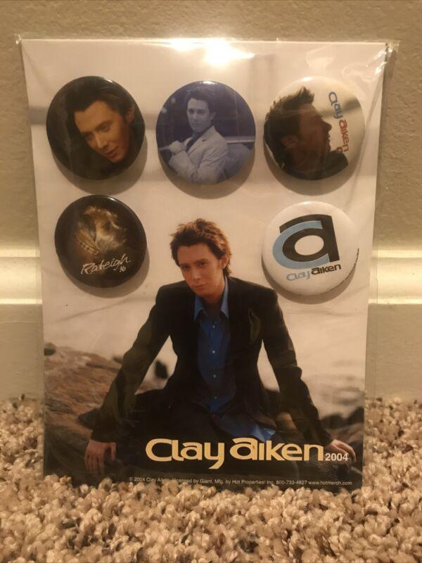 Clay Aiken 2004 Tour Collectible Pins