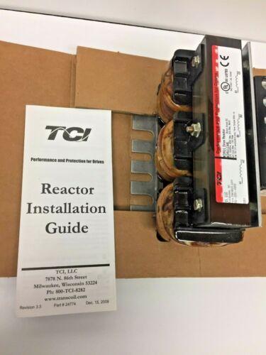 TCI Line Reactors KDRULC44L Input Drive Reactor 575/600V 52A KDR optimized - NEW