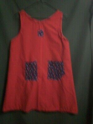 ANNIE-ORPHAN  COSTUME--SACK DRESS-sz.14- FOR- ANNIE ORPHANS-PLAYS