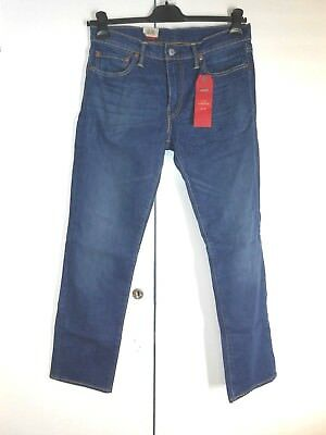 Levi's 511 Slim-Fit Straight Jeans W32 L30 TD078 BB 02