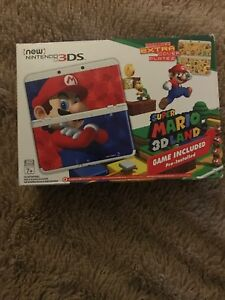Mario New 3DS (not XL) with changeable faceplates