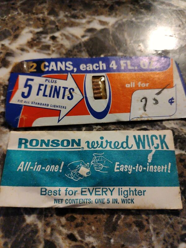VINTAGE - Ronson Wired Wick - Never Used - In Original Package