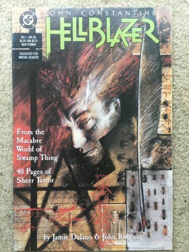 Hellblazer #1 *Constantine In His Own Series!*