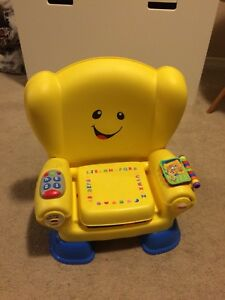 Fischer price laugh n learn smart stages chair English edition