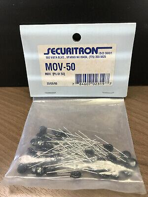Securitron Mov-50 Metal Oxide Varistor Sealed Package Of 50