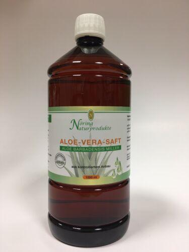 ( 9,25€/L) Aloe Vera Saft aus kontr. Anbau, 99,7% Reinheit 1000ml