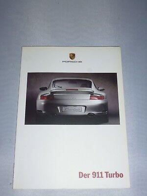 originales Porsche Buch / Broschüre  Der 911 Turbo