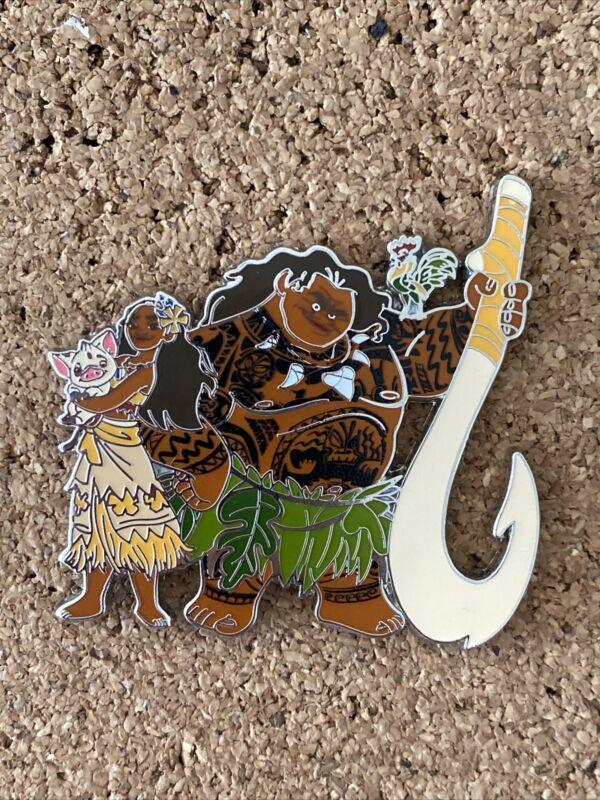 Vaiana / Maui Hei Hei, Moana & Pig Disney Land Paris Dlrp Dlp 2016 pin