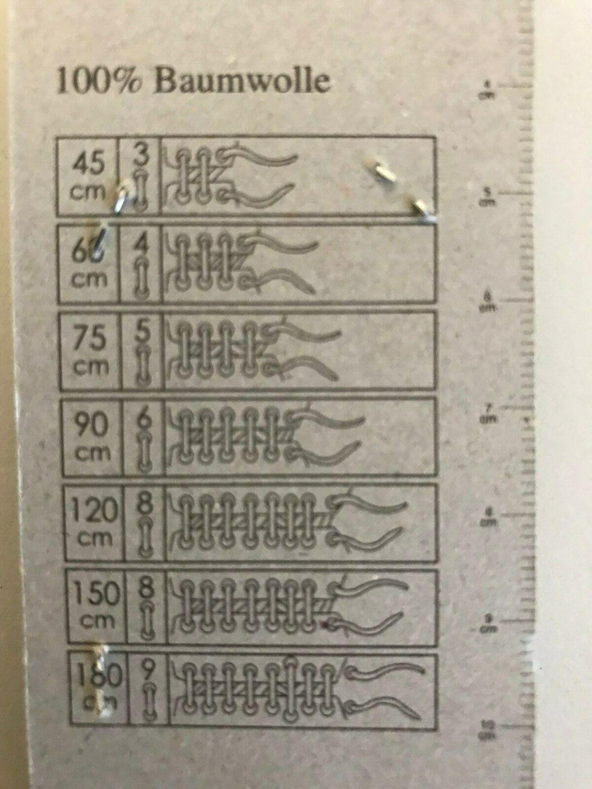 Skate Schnürsenkel Fishbone Flachsenkel Frühe 2000er Jahre SELTEN 140cm x 2,3cm