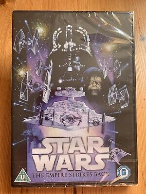 Star Wars: The Empire Strikes Back - Dvd (2015) Mark Hamill - Episode V - NEW