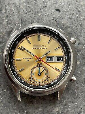 Vintage Seiko 7016 7000 Flyback Automatic Chronograph