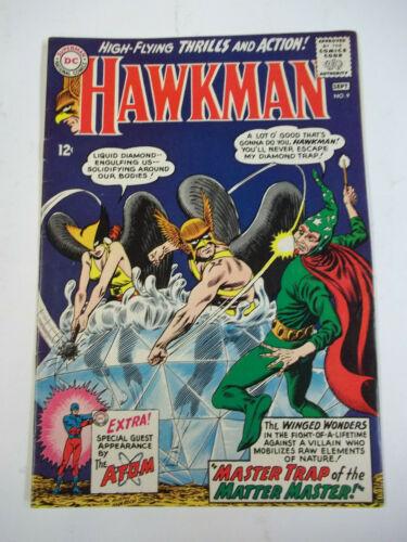 HAWKMAN  #9  (1965)  7.0 FN/VF
