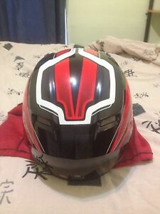 Bell motorcycle helmet for sale.