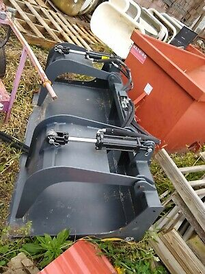 72 Skidsteer Grapple Bucket 6 Skid Steer Bobcat Wolverine