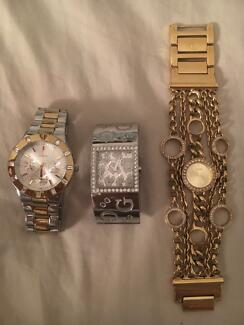3 Guess watches