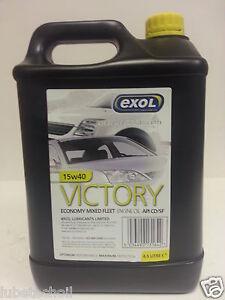 Victory 15w40 mineral engine oil api cd sf 4 5 ltr for Motor oil for older cars