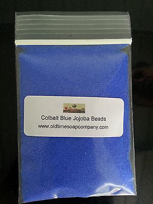 Jojoba Spheres Beads 1/2 oz Colbalt Blue Soaps Scrubs