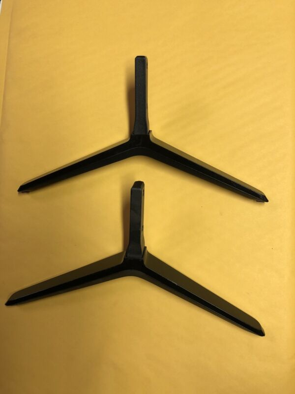 Vizio TV Base Stand Legs for E55-C1, E50-C1 a pair *NO Screws *012