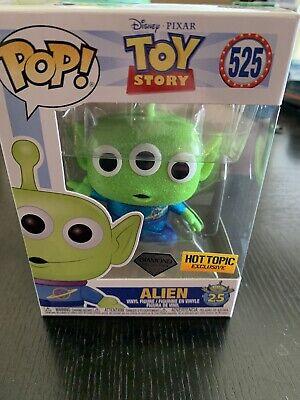 Toy Story 4 - Alien Diamond Glitter Pop! Funko Pop In Hand