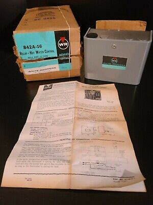 New In Box White Rodgers Relay Hot Water Control 842a-16