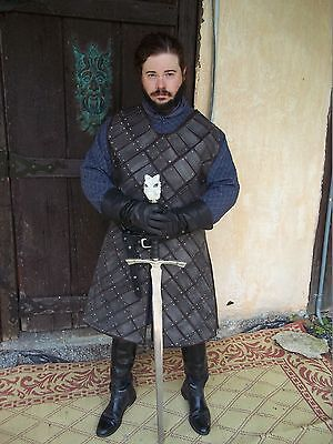 Game Of Thrones Jon Snow Season 6 Stark Armor Costume Armor Only (Stark Costume)