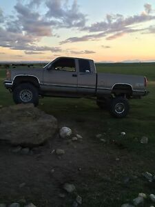 1997 solid axel gmc