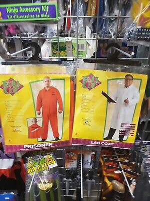 Mad Surgeon Halloween Costume (Doctor Lab Coat Surgeon Nurse Mad Scientist Halloween Adult Costume)