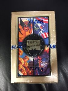 Marvel Masterpieces 1994 Collectible Cards SEALED 36ct Box Rare