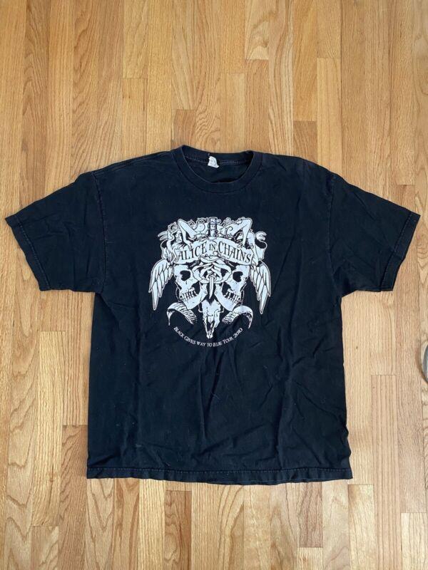 Rare Vintage Alice In Chains concert/tour Shirt deftones mastodon