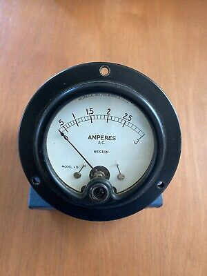 Weston Ac Meter