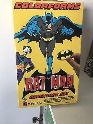 1989 BATMAN COLOR FORMS ADVENTURE PLAY SET, DC COMICS