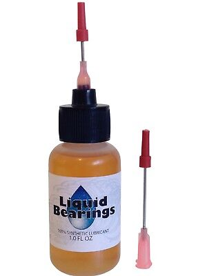 Liquid Bearings 100%-synthetic oil for antique & modern typewriters, 2 needles!