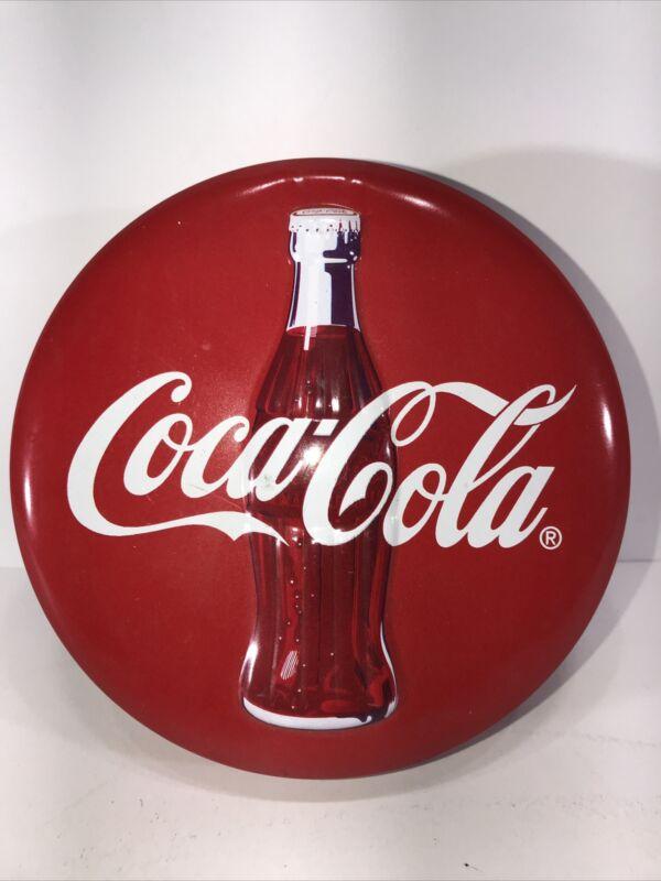 Coca-Cola Aluminum Collectible Tin Coke Vintage 1995 Soda Pop