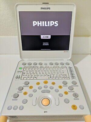 Philips Cx50 Xmatrix 3d Rev 4 W 1- S5-1 Sector Probe Portable Ultrasound
