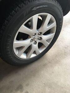Bridgestone Blizzak Winter Tires 235/60R18