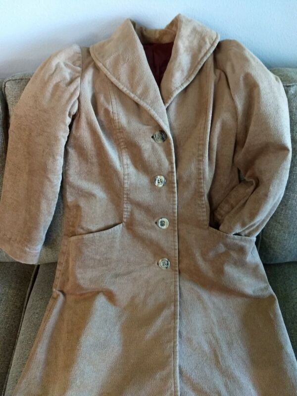 Reenactment, Costume Pioneer, Western Ladies Coat, Sz 6-8