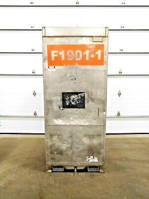 Mo-3836 Stainless Steel Tote Bin. 70 Cu Ft.