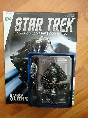 Star Trek Eaglemoss Oficial Naves Espaciales Colección #109 Borg la REINA Enviar comprar usado  Enviando para Brazil