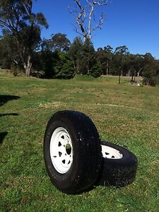 Wheels tyres rims 5 stud toyota sunraysia Sussex Inlet Shoalhaven Area Preview