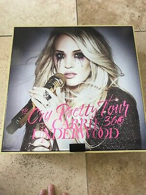 CARRIE UNDERWOOD CRY PRETTY VIP TOUR PACKAGE Sapphire MINT Condition Large (Large Box Software)