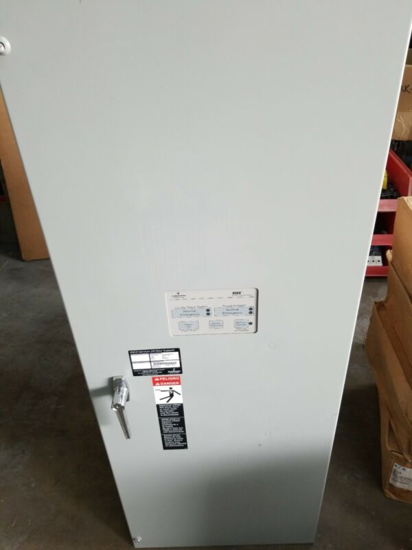 Asco  Automatic Transfer Switch 400 Amp 240 Volts 1 Phase E003000020400F10C
