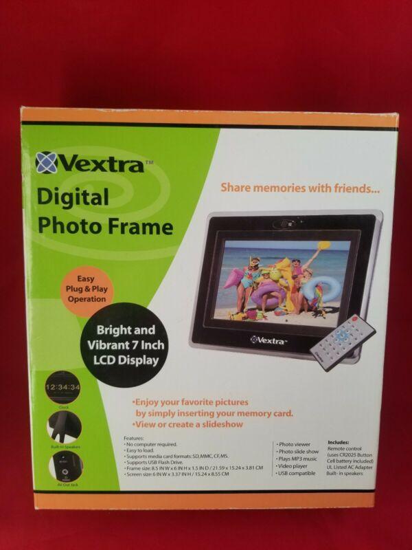 Vextra 7-Inch Digital Photo Frame